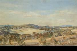 Onkaparinga Valley by HANS HEYSEN