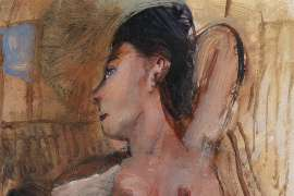 Degas' Muse by GARRY SHEAD