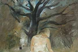 Figure by a Creek by ARTHUR BOYD