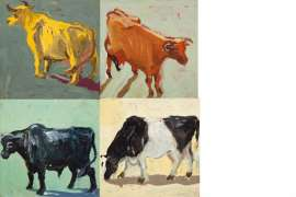 Cows and Bulls by LUCY CULLITON