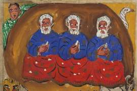 Three Wise Men by MIRKA MORA