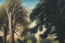 Drive from Racecourse, Tumut by CHARLES MEERE
