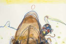 Chasing the Rhino by JOHN OLSEN