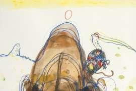 Chasing the Rhino by JOHN OLSEN