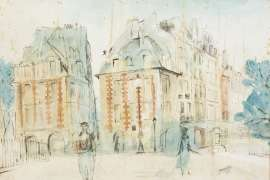 Paris by MARGARET OLLEY