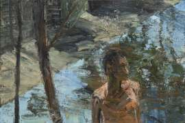 Figure and Canal by EUAN MACLEOD