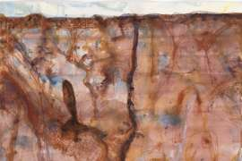 Desert Landscape and Marsupial Mice by JOHN OLSEN