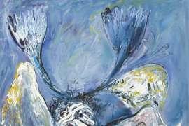 Blue Nebuchadnezzar by ARTHUR BOYD