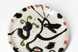 Untitled (Platter) by JOHN OLSEN