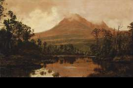 Untitled (View of Mount Pelion West from Frog Flats, Tasmania) by HAUGHTON FORREST
