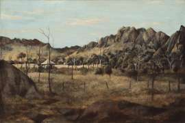 Chillagoe Bluffs by RAY CROOKE