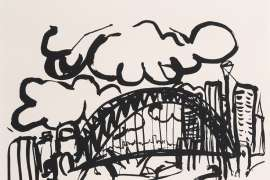 Sydney Harbour by BRETT WHITELEY