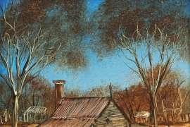 Stockman's Hut by PRO HART
