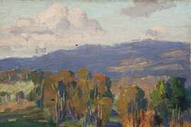 Landscape by ETHEL CARRICK FOX
