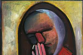 A Quiet Moment by CHARLES BLACKMAN