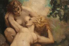 Lust by NORMAN LINDSAY