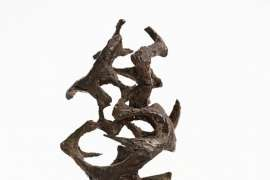 Maquette for Growth Forms by MARGEL HINDER