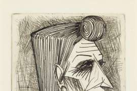 Head of a Woman by JOHN BRACK
