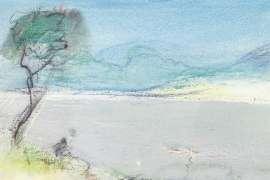 Sketch of the Waterworks, Hobart (Tasmanian Suite) by LLOYD REES