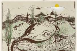 Spring at Oberon by BRETT WHITELEY