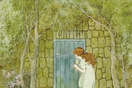 The Little Green Door by IDA RENTOUL OUTHWAITE