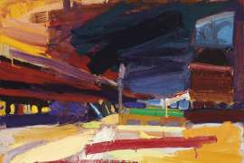 City Road Landscape by BEN QUILTY