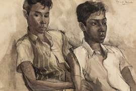Tamil Boys by DONALD FRIEND
