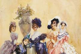 The Friend of Fashion by NORMAN LINDSAY