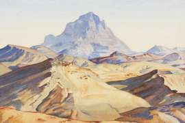 Hills in South Australia by HANS HEYSEN