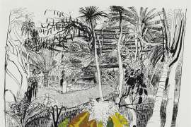 The Garden in Sanur, Bali by BRETT WHITELEY