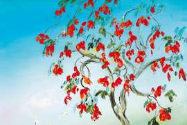 The Flame Tree by DAVID BOYD