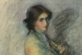 Portrait of a Lady by JANET CUMBRAE-STEWART
