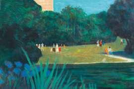 Sunday, Botanical Gardens by RAY CROOKE
