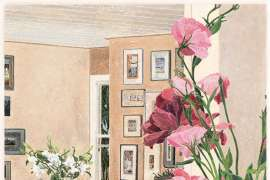 Bronte Interior by CRESSIDA CAMPBELL