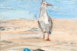 Beach Life (Thongs, Goggles and Gull) by NICHOLAS HARDING