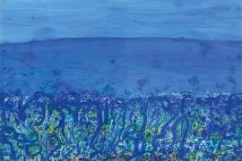 Childhood by the Sea, Popping Blue Bottles by JOHN OLSEN
