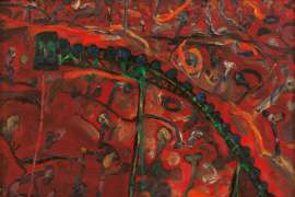 Landscape & Conveyor by JOHN OLSEN