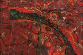 Landscape & Conveyor by JOHN OLSEN