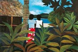 Island Afternoon by RAY CROOKE