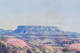 Mount Connor by ALBERT NAMATJIRA