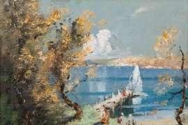The Wharf, Sydney by JOHN BANKS