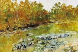 River Landscape by WILLIAM BOISSEVAIN