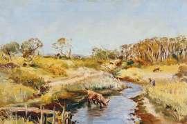 Berwick Landscape by ARTHUR BOYD