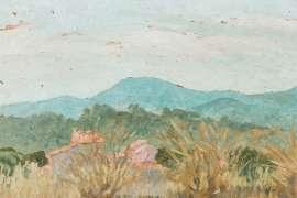 Provence Landscape by RUPERT BUNNY