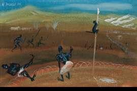Natives New Guinea by WILLIAM DOBELL