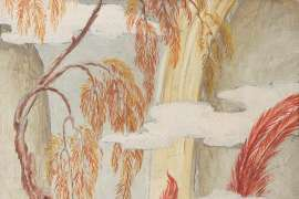 Study for Oriental Garden by ADRIAN FEINT