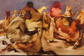 Dog Group by JACQUELINE HICK