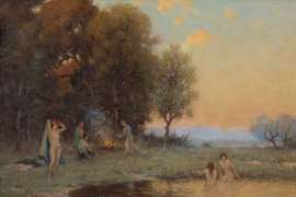 The Bathers by CHARLES WHEELER