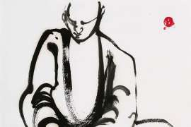 Monk by BRETT WHITELEY