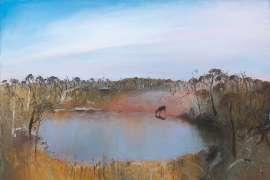 Douglas Cairns' Dam, Victoria by ARTHUR BOYD